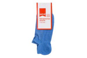 Шкарпетки жіночі спортивні Extra! 23-25 блакитний