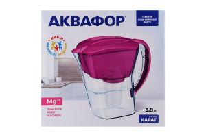 Фільтр-глечик для води 3.8л Lilac Карат Аквафор 1шт