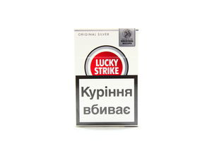 Сигареты Lucky Strike Original silver