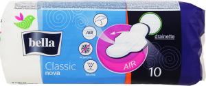 Прокладки Bella Classic Nova drainette air з крильцями 10шт (крит.)