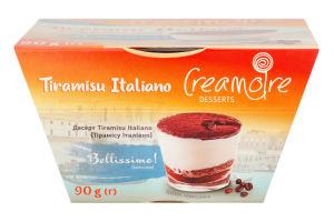 Десерт Tiramisu Italiano Creamoire ст 90г