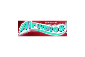 Резинка жевательная без сахара с ароматом вишни и ментола Airwaves м/у 14г