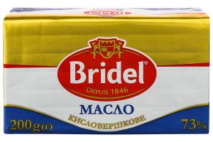 Масло 73% кисловершкове Bridel м/у 200г