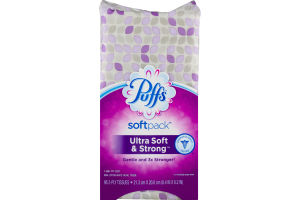 Puffs SoftPack Ultra Soft & Strong Facial Tissue - 96 CT