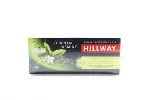 Чай зеленый с ароматом жасмина Oriental Jasmine Hillway к/у 25х2г