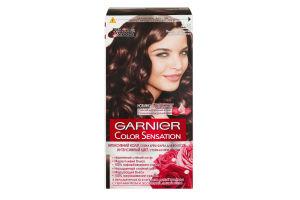 Крем-краска для волос Color Sensation Ледяной каштан №4.15 Garnier
