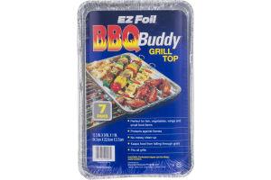 EZ Foil BBQ Buddy Grill Top Pans - 7 CT