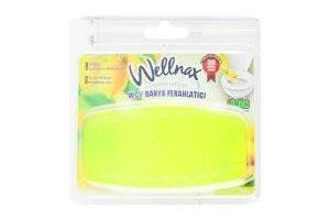 Освежитель воздуха д/туалета/ванны Wellnax Лимон