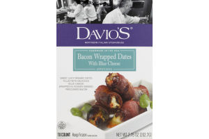Davio's Bacon Wrapped Dates with Blue Cheese - 10 CT