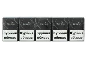 Сигареты Winston XS Silver 20шт
