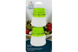 Smart Living Dressing Container - 2 CT