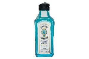Джин Bombay Sapphire 47% 0.05л