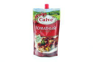 Кетчуп томатный Calve д/пак 350г