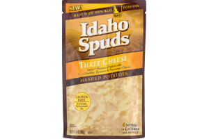 Idaho Spuds Three Cheese Mashed Potatoes