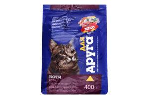 Корм сухой для котов Микс Для Друга м/у 400г