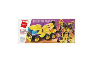 Конструктор для детей от 3лет №1401 Mixer Creative Master Qman 1шт