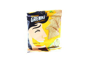 Гренки пшеничные со вкусом сыра с чесноком Snekkin м/у 35г