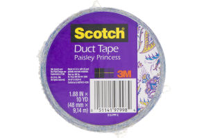 Scotch Duct Tape Paisley Princess