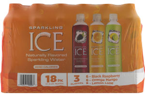 Sparkling Ice Zero Calories Variety Pack - 18 PK