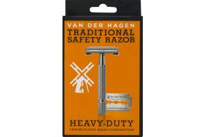 Van Der Hagen Traditional Safety Razor