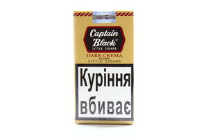 Сигары Captain Black Dark Crema 20шт