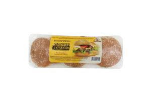 Булочки Цархліб Гамбургер з кунжутом 6шт. 360г в уп