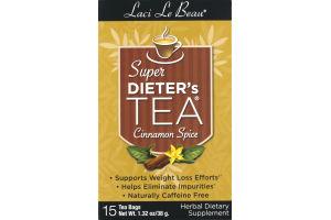 Laci Le Beau Super Dieter's Tea Cinnamon Spice Tea Bags - 15 CT