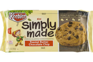 Keebler Simply Made Cookies Peanut Butter Chocolate Chip