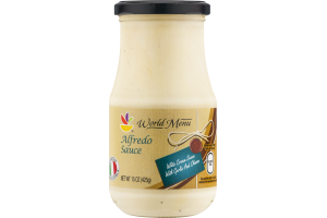 Ahold World Menu Alfredo Sauce
