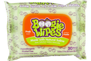 Boogie Wipes Fresh Scent - 30 CT