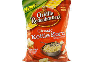 Orville Redenbacher's Classic Kettle Korn Sweet & Salty Gourmet Popcorn