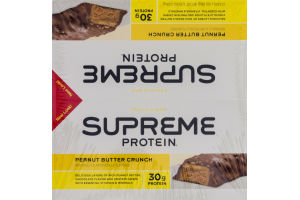 Supreme Protein Bar Peanut Butter Crunch - 12 CT