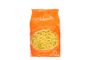 Макаронные изделия Гребешки Makarella м/у 1кг