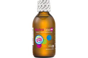 NutraSea Kids Omega-3 + Vitamin D Supplement Bubble Gum Flavor