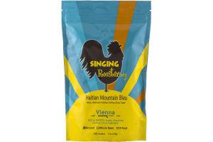 Singing Rooster Haitian Mountain Bleu Vienna Ground Coffee