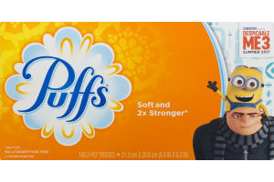 Puffs 2-Ply Tissues Despicable ME-3 Summer 2017 - 180 CT