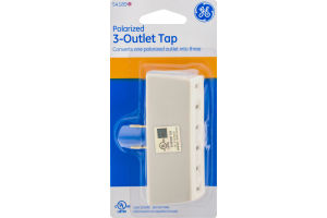 GE Polarized 3-Outlet Tap