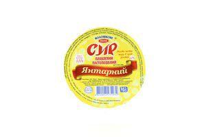 Сыр плавленый Волошкове поле Янтарный 60% 100г