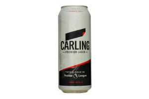 Пиво 0.5л 4.0% светлое Carling ж/б