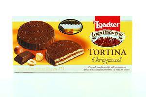 Вафлі Loacker Tortina Original 125г
