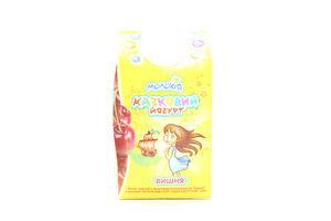 Йогурт Молокия Сказочный вишня 2,5% т/п 450г