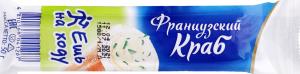 Крабова паличка рол із м'яким сиром та зеленню Французький краб Санта Бремор м/у 50г