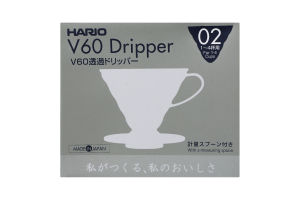 Пуровер для заварювання кави V60 02 №VD-02W Hario 1шт