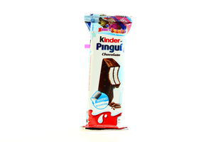 Бисквит в шоколаде с молочной начинкой Pingui Kinder 30г
