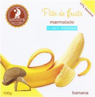 Мармелад в шоколаді Банан Pate de fruits Shoud'e к/у 100г