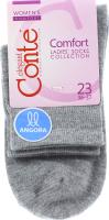 CONTE Шкарпетки жіночі Comfort 14С-114СП р.23 000 сірий