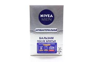 Бальзам после бритья Антибактериальный Серебряная Защита Nivea Men 100мл