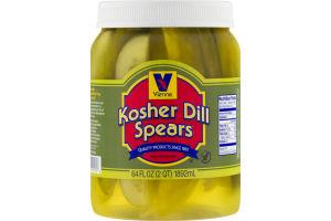 Vienna Kosher Dill Spears