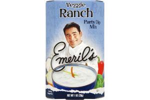 Emeril's Veggie Ranch Party Dip Mix