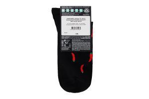 Шкарпетки чоловічі Diwari Happy №17C-151СП 27 061 чорний